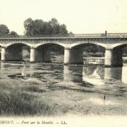 Remiremont 88 le pont sur la moselle cpa
