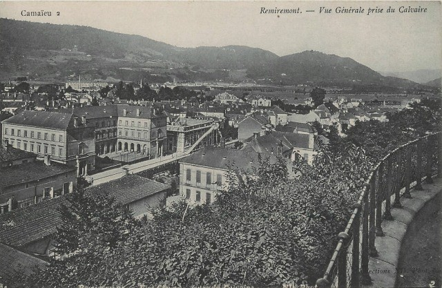 Remiremont 88 vue generale cpa