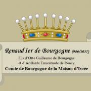 Renaud Ier de bourgogne