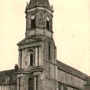 Rennes (Ille-et-Vilaine) L'église Notre-Dame-en-Saint-Melaine CPA