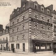 Rennes (Ille-et-Vilaine) L'Hôtel du Cheval d'Or CPA