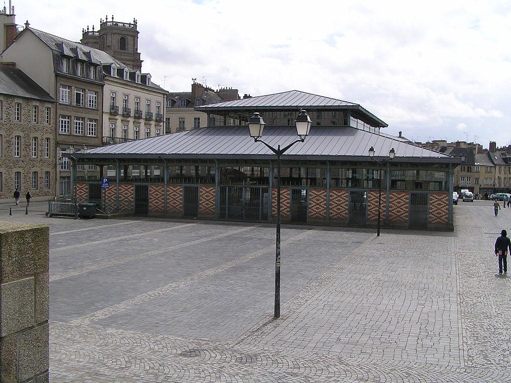 Rennes (Ille-et-Vilaine) La Halle