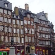 Rennes (Ille-et-Vilaine) La Place du Champ-Jacquet