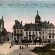 Rennes (Ille-et-Vilaine) La Préfecture CPA