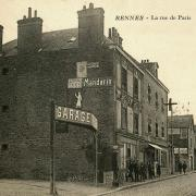 Rennes (Ille-et-Vilaine) La rue de Paris CPA