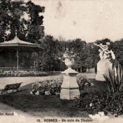 Rennes (Ille-et-Vilaine) Le jardin du Thabor CPA
