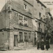 Rennes (Ille-et-Vilaine) Les vieilles maisons CPA
