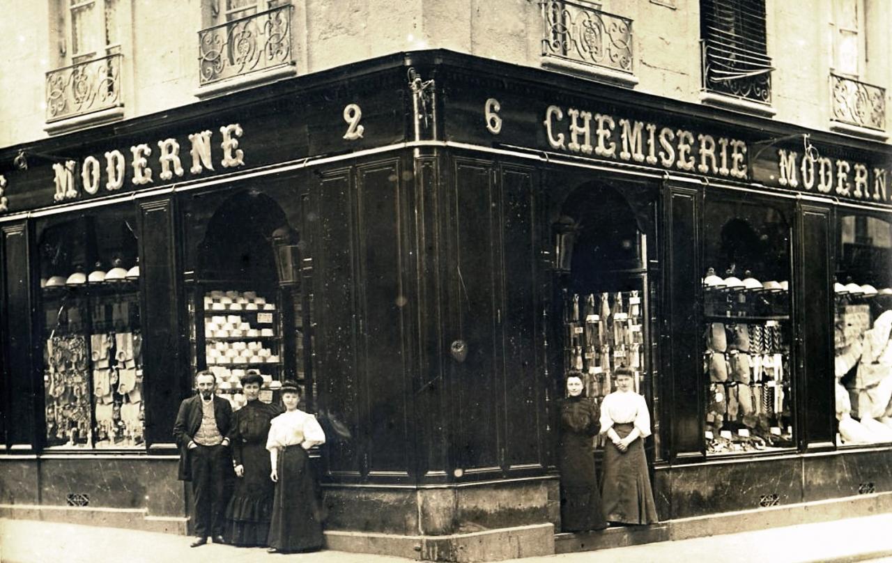 Rennes (Ille-et-Vilaine) Une boutique CPA
