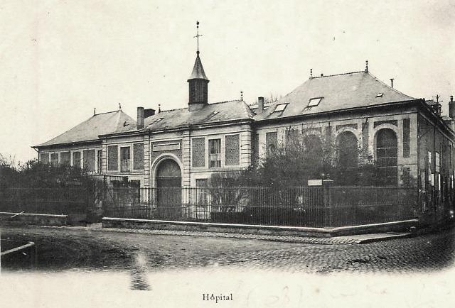 Rethel (08) L'Hôpital CPA
