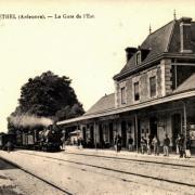 Rethel (08) La gare CPA