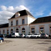 Rethel (08) La gare