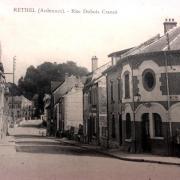 Rethel (08) La rue Dubois Crancé CPA