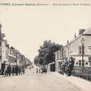 Rethel (08) La rue Gambetta CPA
