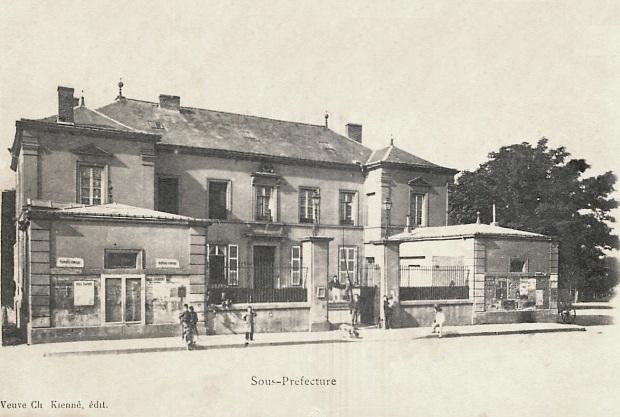 Rethel (08) La Sous-Préfecture CPA
