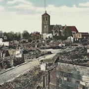 Rethel (08) La ville en 1914 CPA