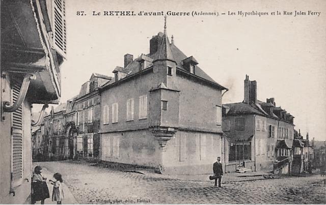 Rethel (08) Le donjon Lasalle CPA