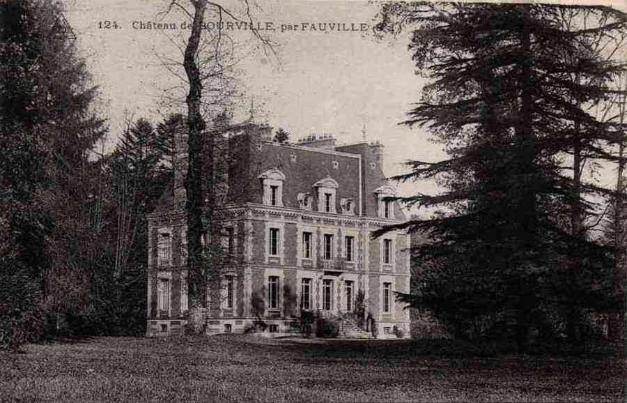 Ricarville (Seine Maritime) Château de Bourville CPA
