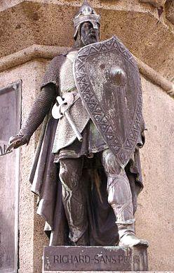 Richard Ier Sans Peur, statue de Falaise