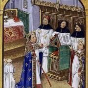 Robert le Pieux, cathédrale d'Orléans, image de 1471