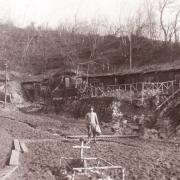 Romagne-sous-Montfaucon (Meuse) 1914-1918, camp allemand CPA
