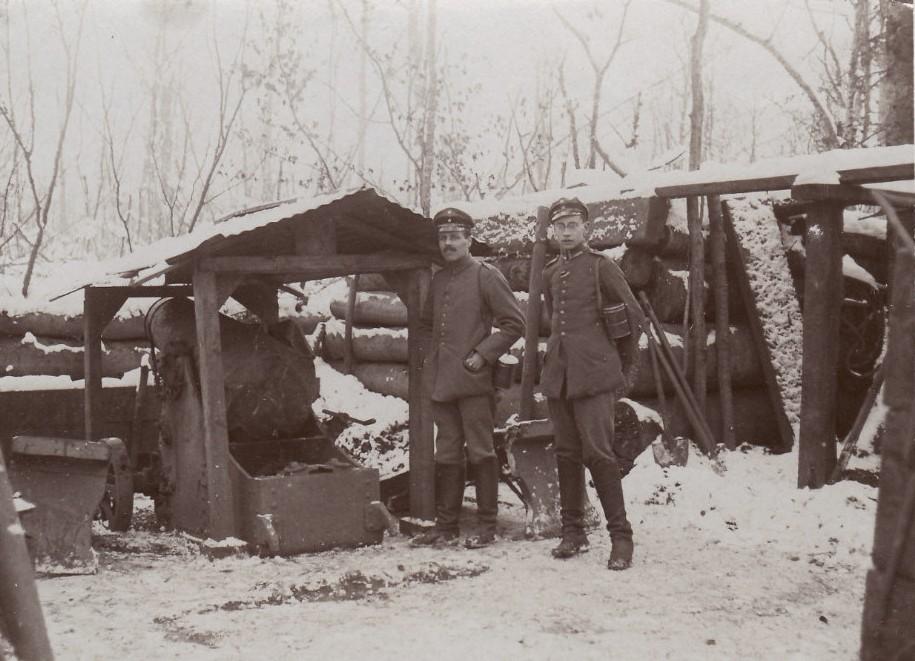 Romagne-sous-Montfaucon (Meuse) 1914-1918, canon CPA