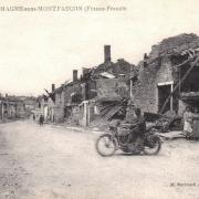 Romagne-sous-Montfaucon (Meuse) 1914-1918, ruines CPA1