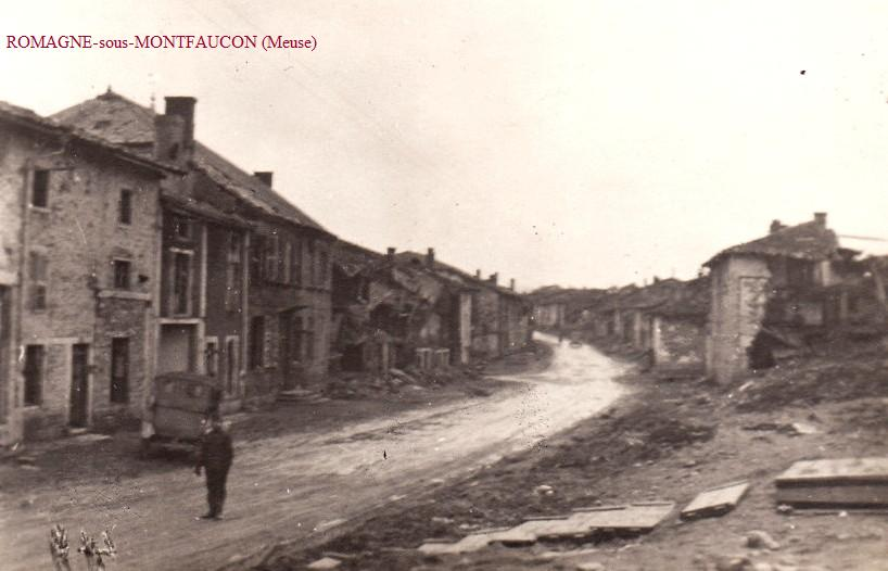 Romagne-sous-Montfaucon (Meuse) CPA