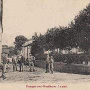 Romagne-sous-Montfaucon (Meuse)  La rue du Petit pont CPA