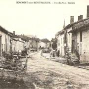 Romagne-sous-Montfaucon (Meuse)  La rue principale CPA 6