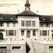 Romagne-sous-Montfaucon (Meuse)  Mairie-école CPA