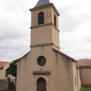 Roquefort-sur-Soulzon (Aveyron) L'église de Lauras
