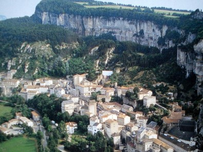 Roquefort-sur-Soulzon (Aveyron) Vue générale