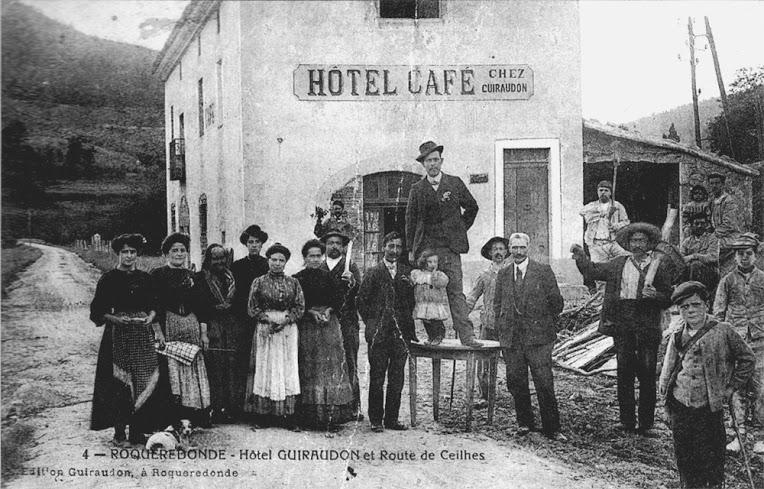 Roqueredonde (Hérault) L'Hôtel Guiraudon et la famille Bascou