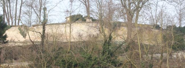 Roucy (Aisne) L'enceinte du château