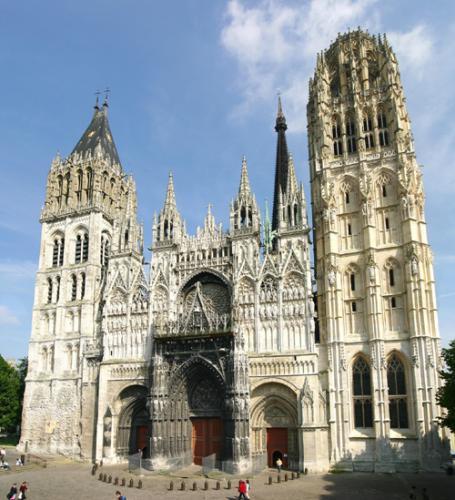 Rouen : La cathédrale Notre-Dame
