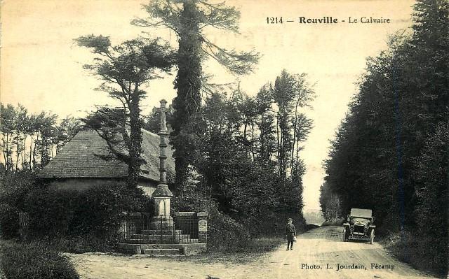 Rouville (Seine Maritime) Calvaire CPA