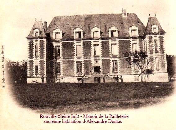 Rouville (Seine Maritime) Manoir de la Pailleterie CPA