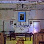 Rozoy-Bellevalle (Aisne) intérieur l'église Saint-Thibaud