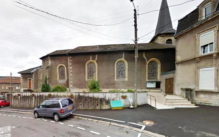 Russange (Moselle) L'église