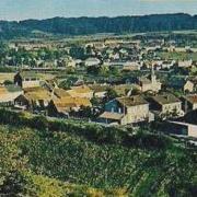 Russange (Moselle) Vue générale vers 1980