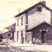 Saâne-Saint-Just (Seine Maritime) Gare CPA