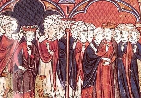 Hugues Capet, sacre en 987