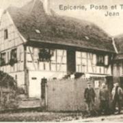 Saessolsheim 67 epicerie et poste de jean ulrich cpa