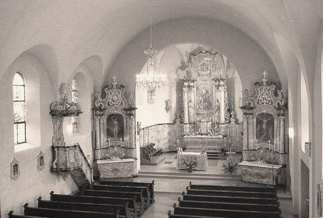 Saessolsheim 67 l eglise saint jean baptiste interieur cpa