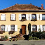Saessolsheim 67 la mairie ancien presbytere