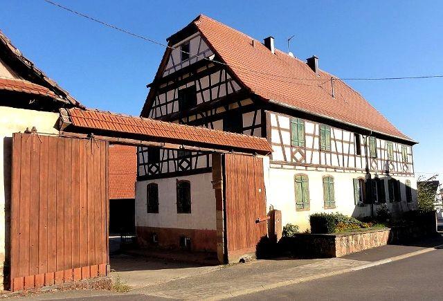 Saessolsheim 67 une ferme du xviiieme siecle