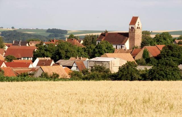 Saessolsheim 67 vue generale