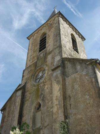 Saint-Affrique (Aveyron) Boussac, l'église