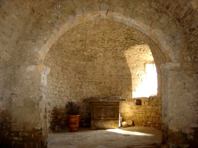 Saint-Affrique (Aveyron) Boussac, la chapelle
