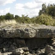 Saint-Affrique (Aveyron) Boussac, le dolmen